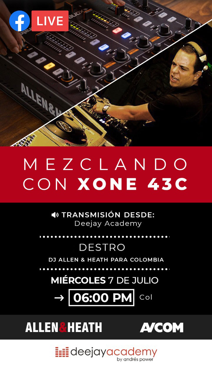Masterclass Allen&Heath Xone43