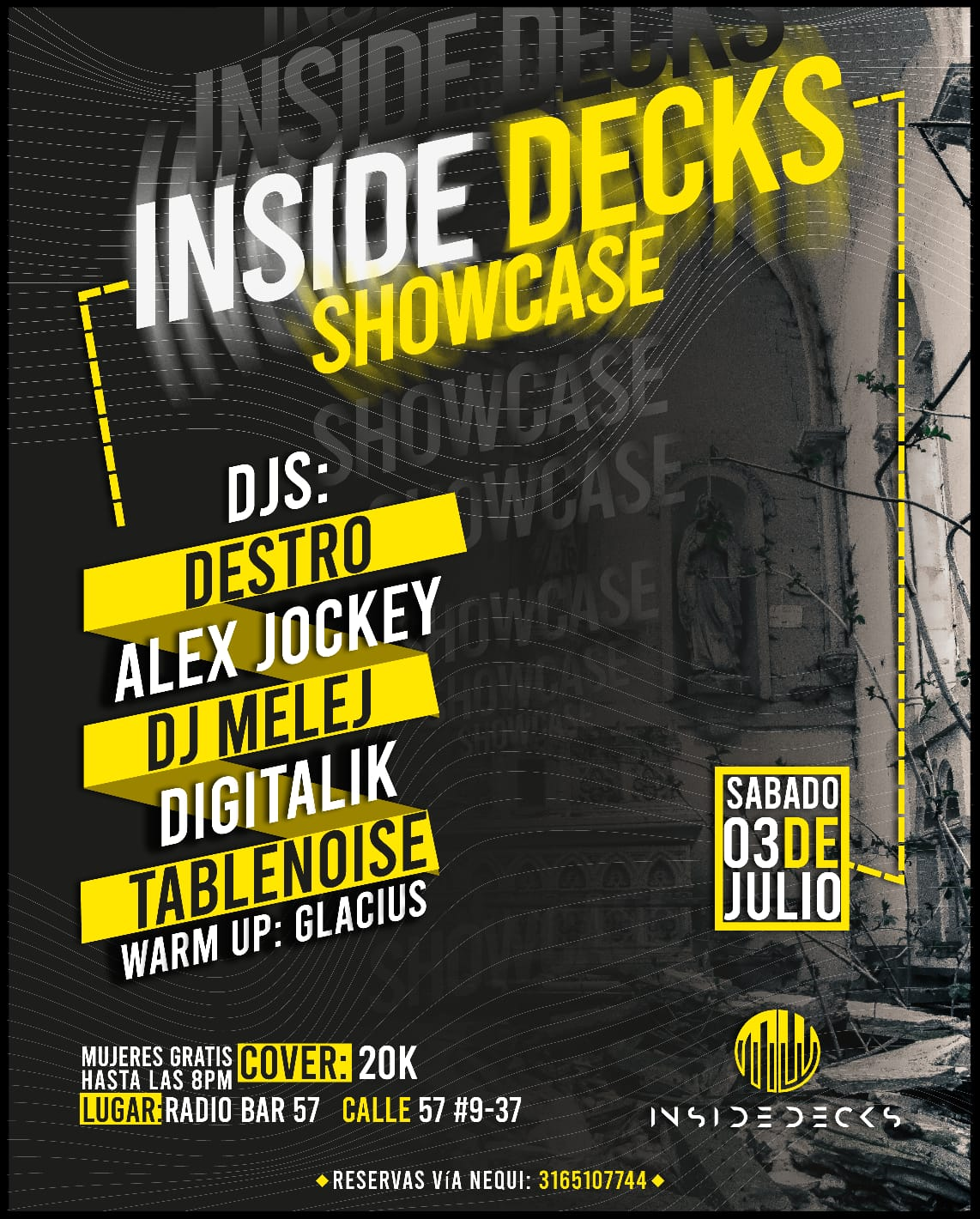 INSIDE DECKS Showcase
